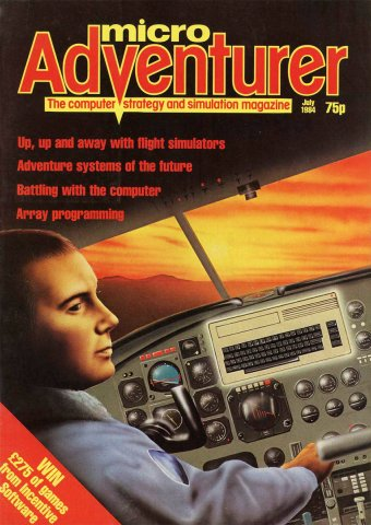 Micro Adventurer Issue 09 July 1984