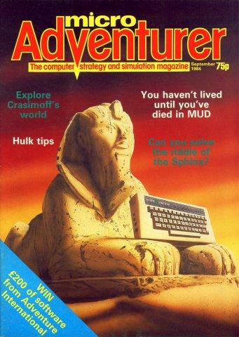 Micro Adventurer Issue 11 September 1984