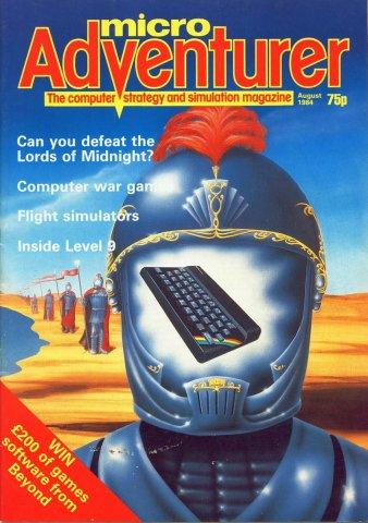 Micro Adventurer Issue 10 August 1984