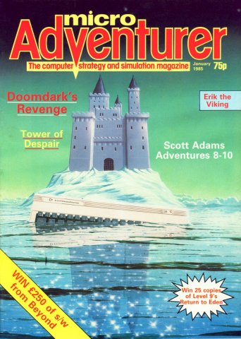 Micro Adventurer Issue 15 January 1985