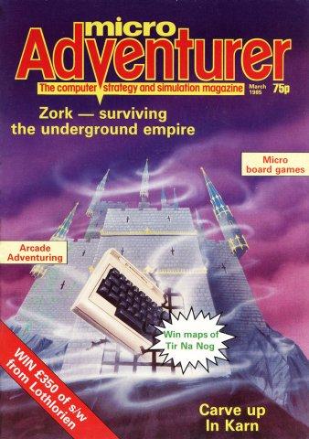 Micro Adventurer Issue 17 March 1985