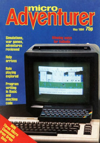 Micro Adventurer Issue 07 May 1984