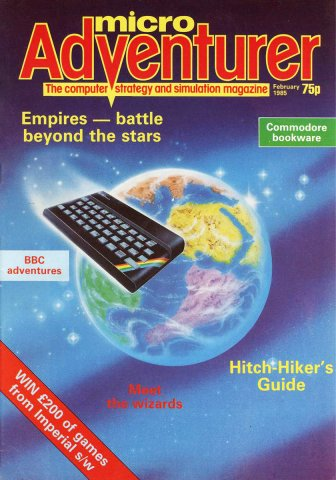 Micro Adventurer Issue 16 February 1985