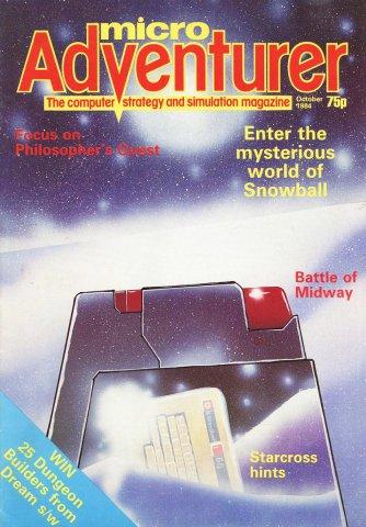 Micro Adventurer Issue 12 October 1984