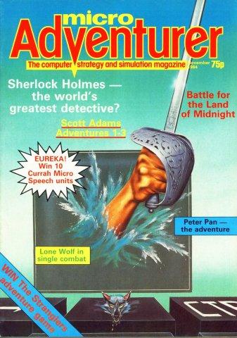 Micro Adventurer Issue 13 November 1984