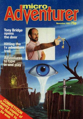Micro Adventurer Issue 01 November 1983