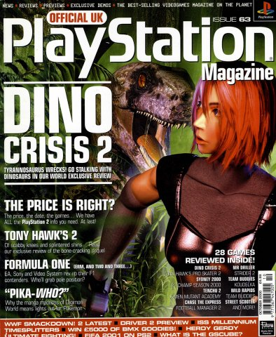 Official UK PlayStation Magazine Issue 063 October 2000
