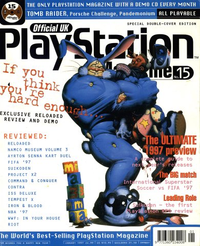 Official UK PlayStation Magazine Issue 015 (January 1997)
