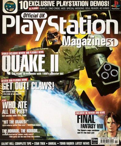 Official UK PlayStation Magazine Issue 051 November 1999