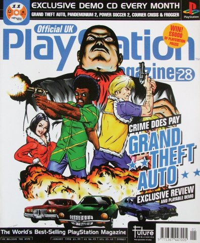 Official UK PlayStation Magazine Issue 028 (January 1998)