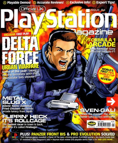 Official UK PlayStation Magazine Issue 084 May 2002