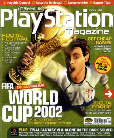 Official UK PlayStation Magazine Issue 083 April 2002