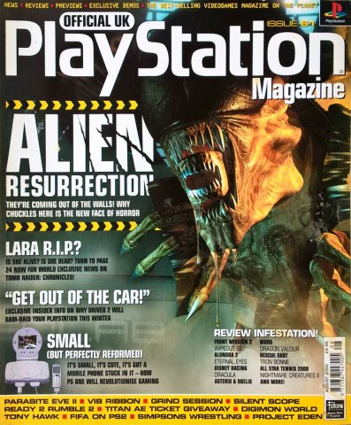 Official UK PlayStation Magazine Issue 061 August 2000