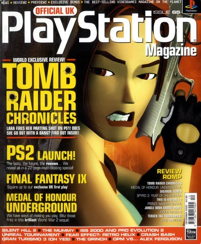 Official UK PlayStation Magazine Issue 065 December 2000