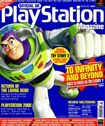 Official UK PlayStation Magazine Issue 054 January 2000
