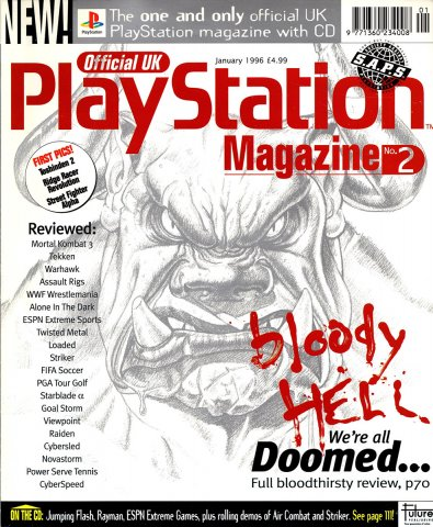 Official UK PlayStation Magazine Issue 002 (January 1996)