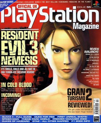 Official UK PlayStation Magazine Issue 055 February 2000