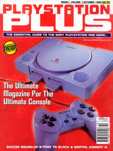 PlayStation Plus Issue 001 (October 1995)