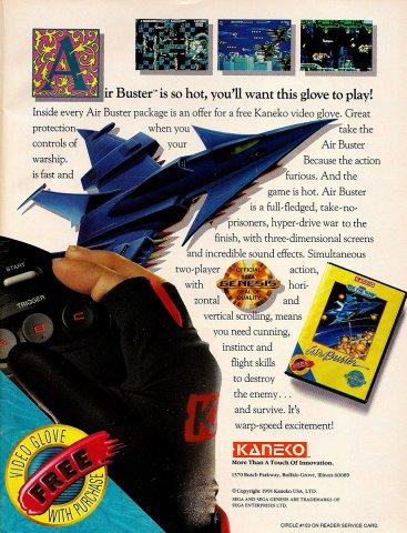 Air Buster (1991)