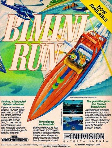 Bimini Run (1991)