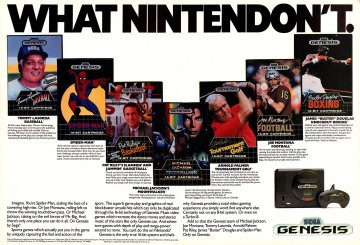 Genesis Does What Nintendon't multi-ad 2 (1990)