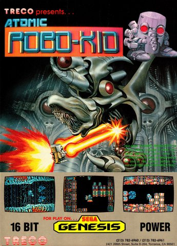 Atomic Robo-Kid (1990)