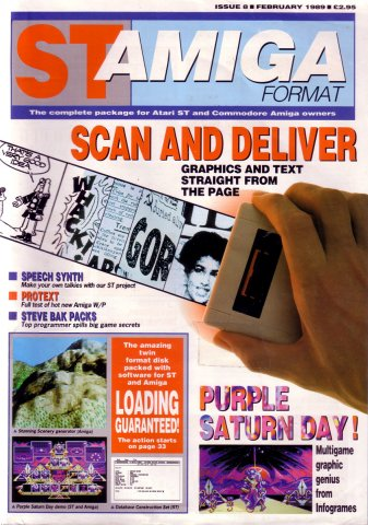 ST-Amiga Format Issue 08 Feb 1989