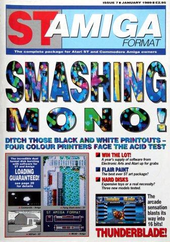 ST-Amiga Format Issue 07 Jan 1989
