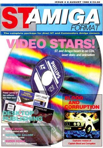ST-Amiga Format Issue 02 Aug 1988