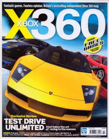 X360 Issue 010 (August 2006)