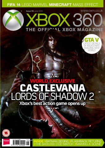 XBOX 360 The Official Magazine Issue 099 June 2013