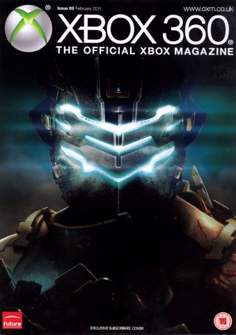 XBOX 360 The Official Magazine Issue 069 February 2011 subscriber's cover