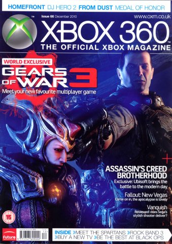 XBOX 360 The Official Magazine Issue 066 December 2010