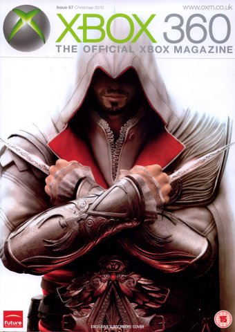 XBOX 360 The Official Magazine Issue 067 Xmas 2010 subscriber's cover