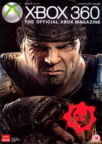 XBOX 360 The Official Magazine Issue 074 July 2011 subscriber's cover