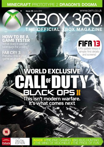XBOX 360 The Official Magazine Issue 086 June 2012