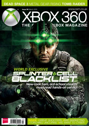 XBOX 360 The Official Magazine Issue 096 March 2013