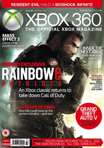 XBOX 360 The Official Magazine Issue 080 Xmas 2011