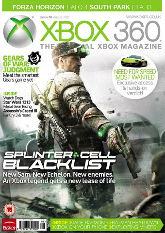 XBOX 360 The Official Magazine Issue 088 August 2012