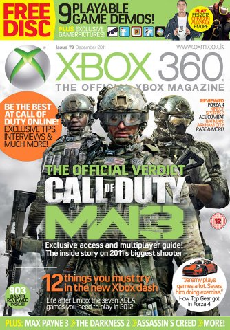 XBOX 360 The Official Magazine Issue 079 December 2011