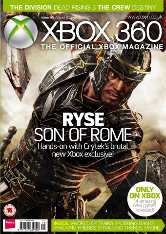 XBOX 360 The Official Magazine Issue 101 August 2013
