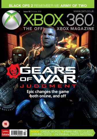 XBOX 360 The Official Magazine Issue 090 October 2012
