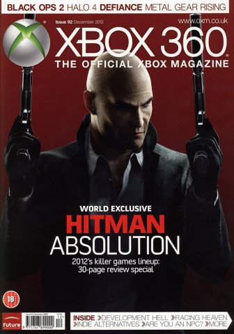 XBOX 360 The Official Magazine Issue 092 December 2012