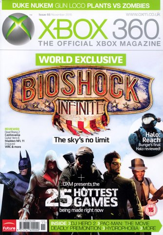 XBOX 360 The Official Magazine Issue 065 November 2010
