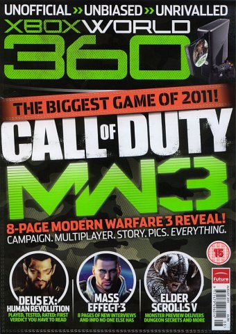 XBox World Issue 106 (August 2011)