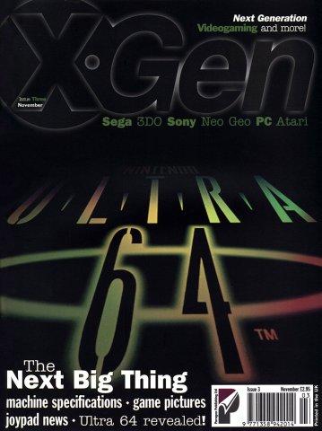 X-Gen Issue 03 November 1995