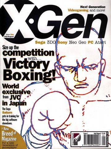 X-Gen Issue 01 July-August 1995