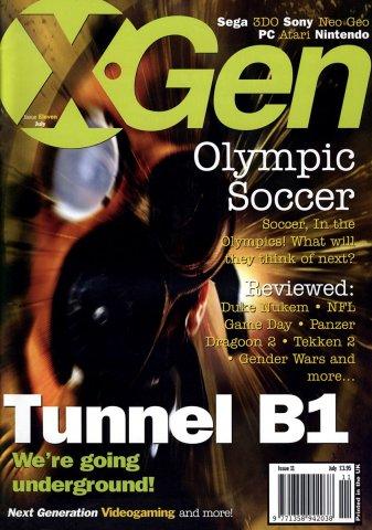 X-Gen Issue 11 July 1996