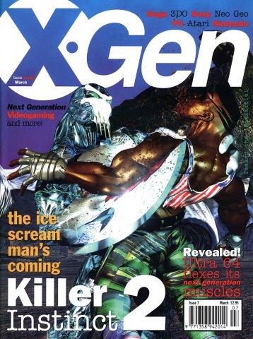 X-Gen Issue 07 March 1996