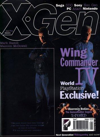 X-Gen Issue 05 January 1996